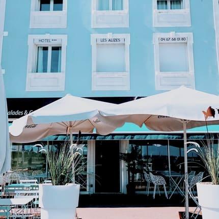 photo du restaurant sur la braise palavas les flots